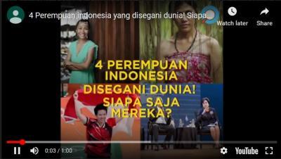 4 Srikandi Indonesia yang Disegani Dunia, Siapa Saja Mereka?