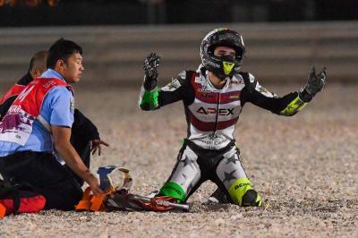 Kucing Ini Diduga Jadi Penyebab Pembalap Moto2 Jatuh di COTA