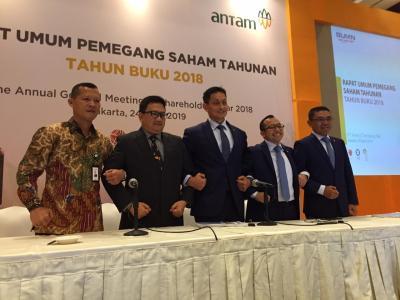 Antam Tertarik Beli 20% Saham Vale Indonesia