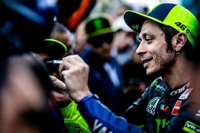 Legenda Yakin Rossi Bisa Kalahkan Marquez