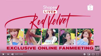 Gelar Exclusive Online Fan Meeting Bersama Red Velvet, Shopee Kembali Bikin Kejutan!