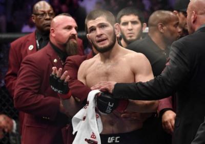 UFC Resmi Dipindah, Khabib Comeback di Abu Dhabi?