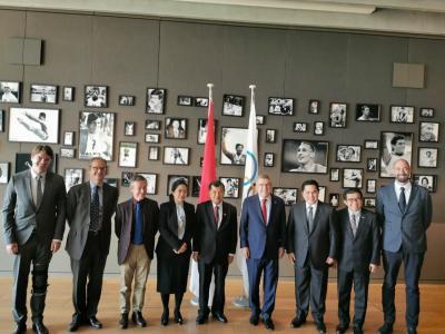 Erick Thohir: JK Bertemu Thomas Bach untuk Seriusi Indonesia Jadi Tuan Rumah Olimpiade 2032