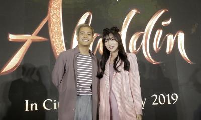 Cerita Isyana Sarasvati dan Gamaliel Terpilih Nyanyikan OST Aladdin