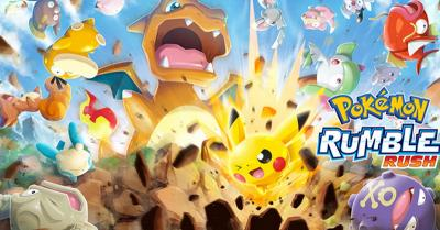 Game Pokemon Rumble Rush Meluncur di Android