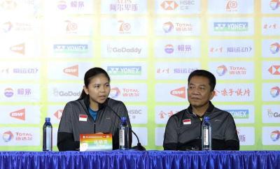 Greysia Polii: Indonesia Datang ke Piala Sudirman 2019 dengan Rendah Hati