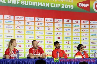 Denmark Percaya Bisa Raih Hasil Maksimal di Piala Sudirman 2019