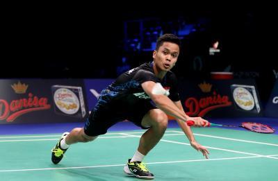 Anthony Perbesar Keunggulan Indonesia 3-0 atas Inggris di Piala Sudirman 2019