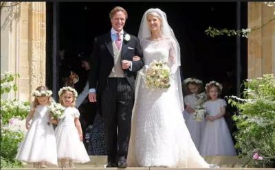 Pesta Pernikahan Lady Gabriella Windsor, Pidatonya Mengharukan
