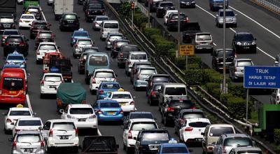 Jalan Tol Bakal 'Dibanjiri' 150.000 Kendaraan