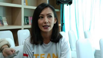 Ikut Maraton di Jakarta, Susan Bachtiar Hampir Ditabrak Motor