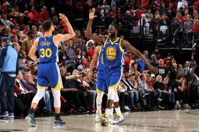Tekuk Blazers Secara Dramatis di Game Ke-4, Warriors ke Final NBA 2018-2019