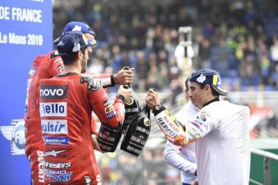 Ciabatti Sebut Hanya Marquez Penghalang Ducati untuk Menang