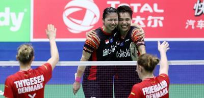 Greysia Apriyani Girang Bisa Bawa Indonesia Jadi Juara Grup di Piala Sudirman 2019