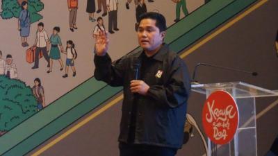 Erick Thohir: Fokus Olimpiade, SEA Games Sasaran Antara