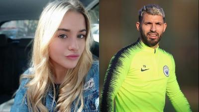 Intip Potret Seksi Sofia Calzetti, Pacar Baru Bintang Manchester City Sergio Aguero