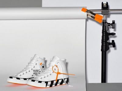 Sneakers Off-White X Converse Chuck 70 Bikin Ngiler, Netizen: Yang Gajinya UMR Sedih