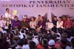 Bali Jadi Provinsi Pertama yang Semua Masyarakatnya Pegang Sertifikat Tanah