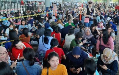 Antrean Penonton Konser Super Junior di Jakarta Mengular sejak Pagi