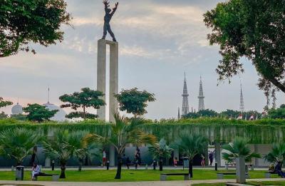 Liburan Murah Meriah Keren di Jakarta, Kunjungi Saja Taman-Taman Instagramable Ini