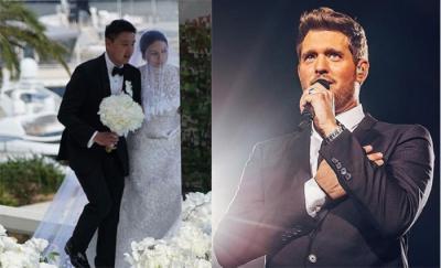 Michael Buble Bikin Pesta Pernikahan Keluarga Besar Bos Sampoerna Semakin Romantis