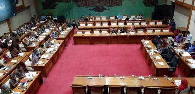 Sri Mulyani Merapat ke DPR Bahas Anggaran Kemenkeu di 2020