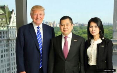 Hary Tanoe Beli Rumah Mewah Donald Trump