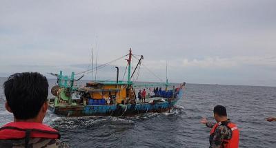 KKP Kembali Tangkap Kapal Pencuri Ikan Berbendera Malaysia