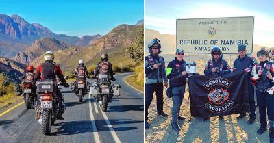 Potret Putra Ketua MA Touring Moge di Namibia Sebelum Meninggal Dunia