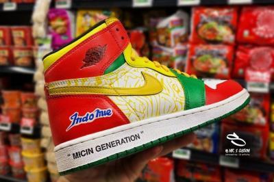 Dibanderol Rp3,3 Juta, Sneakers Air Jordan Indomie Bakal Dipamerkan di Indonesia Comic Con