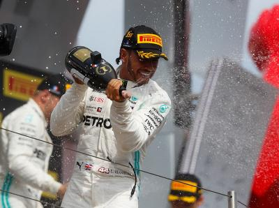 Hamilton Menang di F1 GP Prancis, Bos Mercedes: Dia Tampil Sempurna