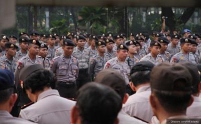 47 Ribu Petugas Gabungan Diterjunkan Kawal Sidang Putusan MK