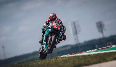 Kondisi Kian Membaik, Quartararo Pasang Target Tinggi di MotoGP Belanda