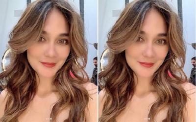 Saling 'Goda' dengan Faisal, Luna Maya Sudah Tak Galau?