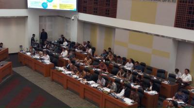 Kemenkeu Rapat dengan DPR Bahas Anggaran Belanja Pemerintah Pusat