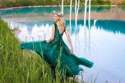 Viral Danau Biru di Siberia, Travel Blogger dan Influencer Berbondong-bondong ke Sana