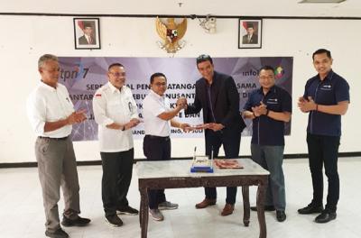 PT Infokom Elektrindo Dukung PTPN 7 Kembangkan Bisnis Melalui Layanan Internet Berkecepatan Tinggi