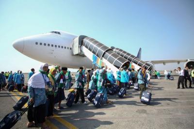 Pesawat Garuda Pembawa Jamaah Haji Putar Balik Akibat Alasan Teknis