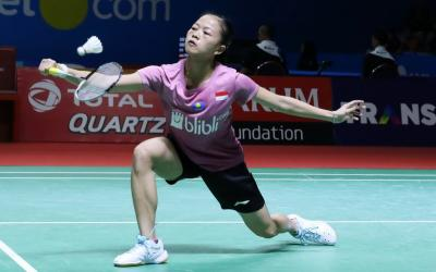 Fitriani Ungkap Penyebab Gagal Atasi Chen Yufei di Indonesia Open 2019