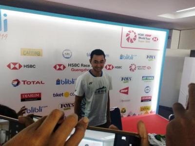 Penyebab Tommy Sugiarto Kalah dari Chen Long di Indonesia Open 2019