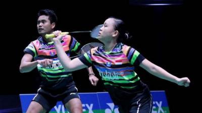 Tontowi Winny Melaju Mulus ke 16 Besar Indonesia Open 2019