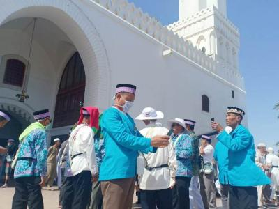 7 Wafat, 77.043 Jamaah Haji Tiba di Tanah Suci