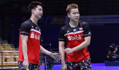 Marcus Kevin Melenggang ke Perempatfinal Indonesia Open 2019