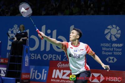 Hadapi Chou Tien Chen, Jonatan Berpeluang Rebut Tiket Semifinal Indonesia Open 2019