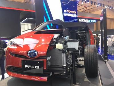Electrification Day: Toyota Pamer Prius, Camry Hybrid & C-HR Hybrid di GIIAS 2019