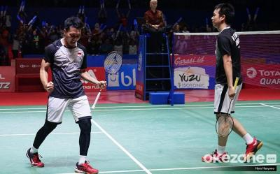 Ahsan Hendra Rebut Satu Tiket Final Indonesia Open 2019