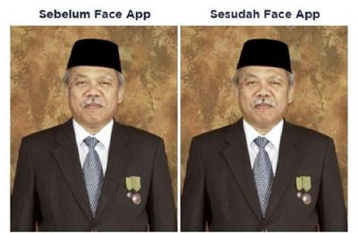 Menteri Basuki Ikut Age Challenge, Hasilnya Tak Diduga