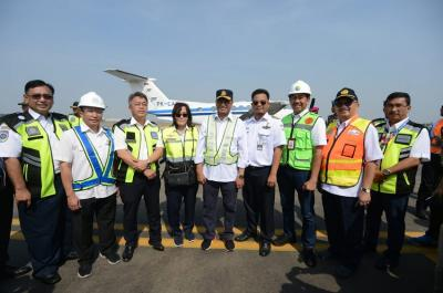 Jokowi Resmikan Runway Ketiga Bandara Soetta saat Kemerdekaan RI