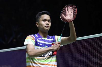 Tundukkan Wakil China, Anthony Lolos ke Babak Kedua Jepang Open 2019