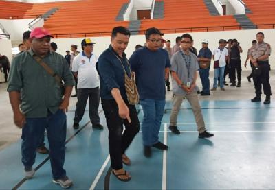 Menpora Tinjau Kesiapan PON XX di Papua